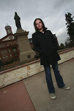 When she didn't get satisfaction at Regis University, Alana McCoy went to the Denver police.