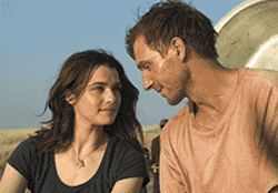 A tangled twosome: Rachel Weisz and Ralph Fiennes  sink roots in The Constant Gardener.