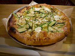 "The white ""zucca"" pizza at Lucky Pie should never go out of style."