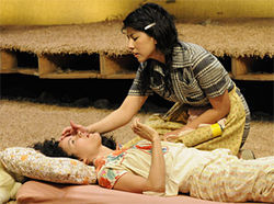 Onahoua Rodriguez and Stephanie Beatriz in Lydia.