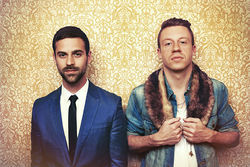 Mack to the future: Ryan Lewis and Macklemore.