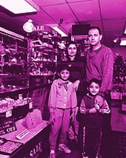Precious jewels: Mary and Naim Doost are closing their Gem and Jewelry Source.