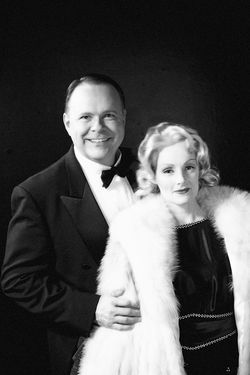 Paul Page and Mari Carlin Dart in Dietrich and Chevalier.