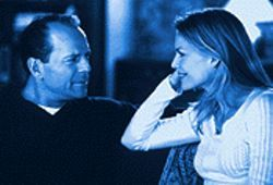 They can't go on together: Bruce Willis and Michelle Pfeiffer in The Story of Us.