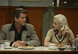 Pierce Brosnan tries to steal Rachel McAdams away from his friend in Married Life.