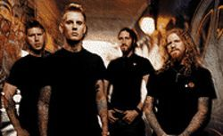 Larger than life: Bill Kelliher (from left), Bränn Dailor,  Troy Sanders and Brent Hinds are Mastodon.