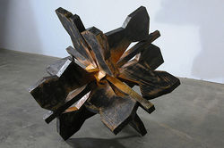 &quot;Snowflake,&quot; by Brian Nash Gill, wood.