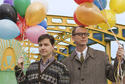 The secret lives of Matmos involve balloons.