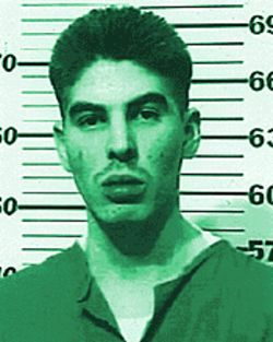 Rolling stock: Inmate Ken Aragon (pictured above), Jack Carr and Anthony Orduno have done most of their time in private prisons, but they say Kit Carson was a new low.