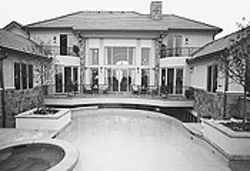 No money down: On paper, the Villa Bellagio sold for 