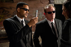 Will Smith and Tommy Lee Jones star in Men in Black 3.