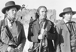 Three clobber-eros: Patrick Wilson, Billy Bob Thornton  and Jason Patric face tough odds in The  Alamo.