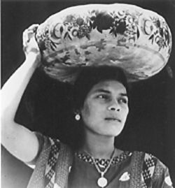 &quot;Woman of Tehuantepec,&quot; by Tina Modotti, gelatin silver print.