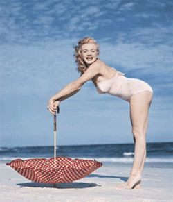 &quot;Marilyn Monroe; Toby Beach, N.Y.,&quot; by Andre de Dienes.
