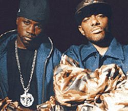 Steady mobbin': Havoc (left) and Prodigy are Mobb  Deep.