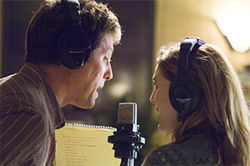 There's no harmony between Drew Barrymore and Hugh Grant in Music and Lyrics.