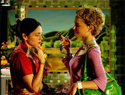 Norah Jones and Natalie Portman star in My Blueberry Nights.