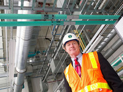 The Department of Energy's Jeff Baker has been heading the NREL expansion project.