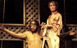 As Annie, Kathleen McCall sticks religiously to the 