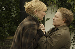 Judi Dench (right) has a few Notes on a Scandal for Cate Blanchett.