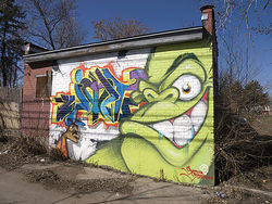 With the GuerillaGorilla, Jolt takes his art to the streets.