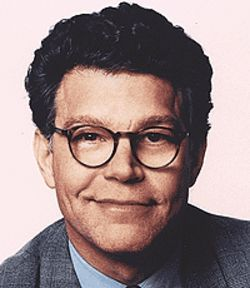 Al Franken, the new face of Amendment 36.