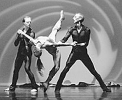 The David Taylor dance troupe brings cinema to the  stage.