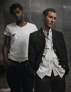 Whether they like it or not, Grant Marshall (left) and  Robert del Naja are Massive Attack.