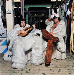 Flight of the Conchords gets the fur flying.