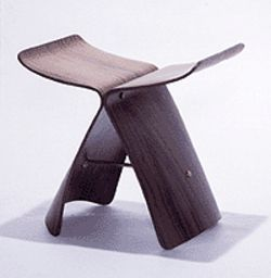 """Butterfly Stool,"" by Sori Yanagi, 1956."