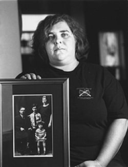 Sara Salzman grew up listening to her family's stories about the Holocaust.