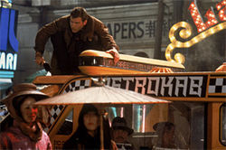 In a year when old was gold, Blade Runner was a relative newcomer.