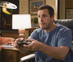Don't fast-forward through Adam Sandler in Click.