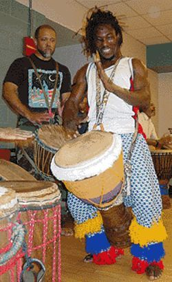 Les Merveilles de Guinea bring the spirit of Africa to  Boulder.