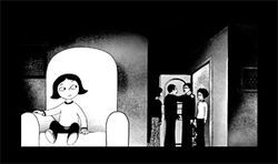 Persepolis examines the Islamic Revolution through the eyes of Marjane Satrapi.
