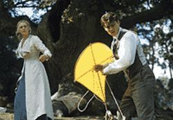 Flight of fancy: Kate Winslet and Johnny Depp in  Finding Neverland.