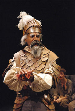 Leonard Barrett in Man of La Mancha.