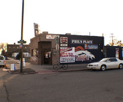 Phil&#039;s welcomes you to the neighborhood.