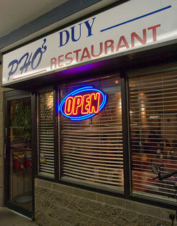 Pho Duy stands out among the many noodle shops on South Federal.
