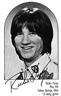 Richie Furay as he looked in 1969.
