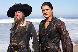 It&#039;s time to send Geoffrey Rush and Orlando Bloom -- and the rest of the cast -- to Davy Jones&#039;s Locker.