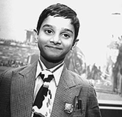 Akrit Jaswal, the boy wonder, in Denver.