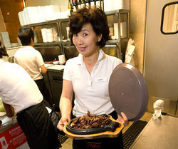 Some like it hot, and Seoul BBQ — and server Ivy Yeom — deliver. See a slideshow from Seoul BBQ.