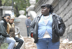 Gabourey Sidibe stars in Precious.