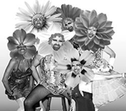 Floral show: The Cycle Sluts entertain at PrideFest 