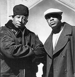 Still a jazz thing: Guru (right) and DJ Premier are back  with their first Gang Starr album in five years.