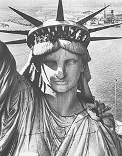 &quot;Statue of Liberty, New York Harbor, 1952,&quot; by 