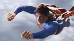 Superman Returns with Brandon Routh in the  suit.