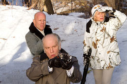 Bruce Willis, John Malkovich and Helen Mirren star in Red.