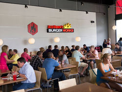 "Red Robin's Burger Works offers a smaller version of the company's concept. Slide show: Red Robin's ""fast-cazh"" foray."
